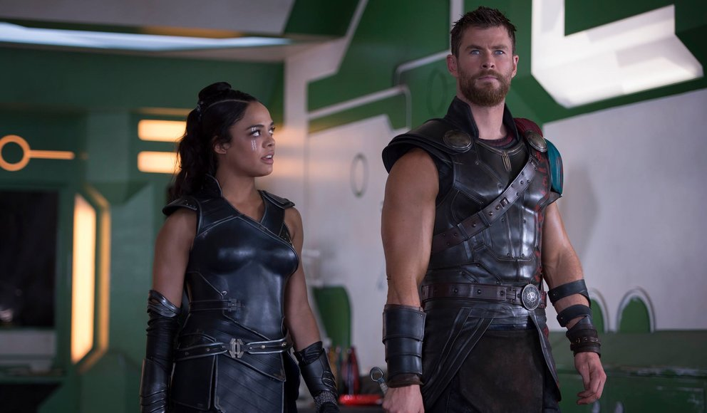 Thor 3 Ragnarok Valkyrie Tessa Thompson Chris Hemsworth Men in Black 4