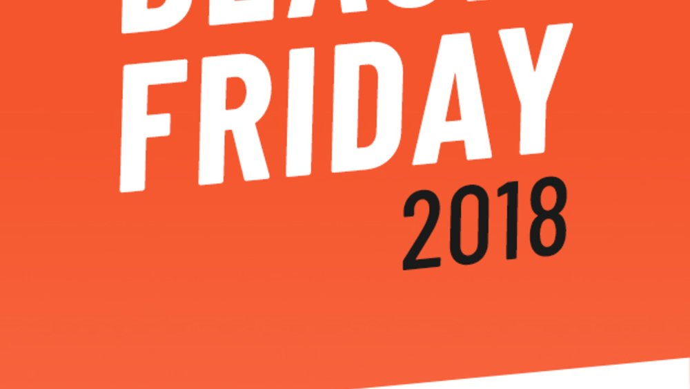 Black Friday & Amazon Cyber Monday Woche 2018 Poster