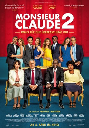 Plakat: MONSIEUR CLAUDE 2