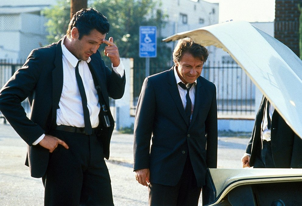 Reservoir Dogs 1990 Michael Madsen Harvey Keitel