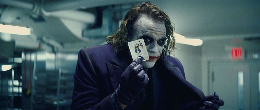 The Dark Knight 2008 Heath Ledger