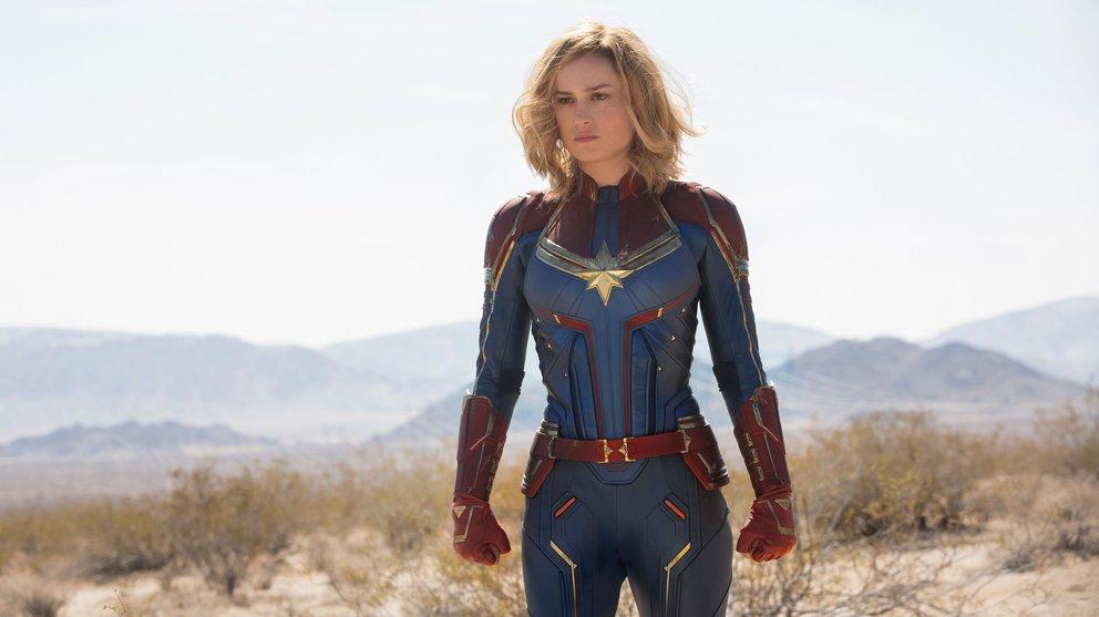 Captain Marvel Brie Larson MCU 2019 Trailer Easter Egg