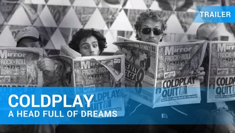 Coldplay: A Head Full of Dreams - Trailer Deutsch Poster