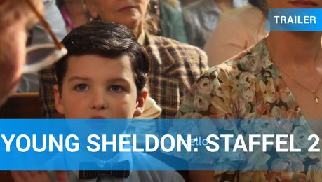 Young Sheldon Staffel 2 Englisch Trailer Amazon Video Poster