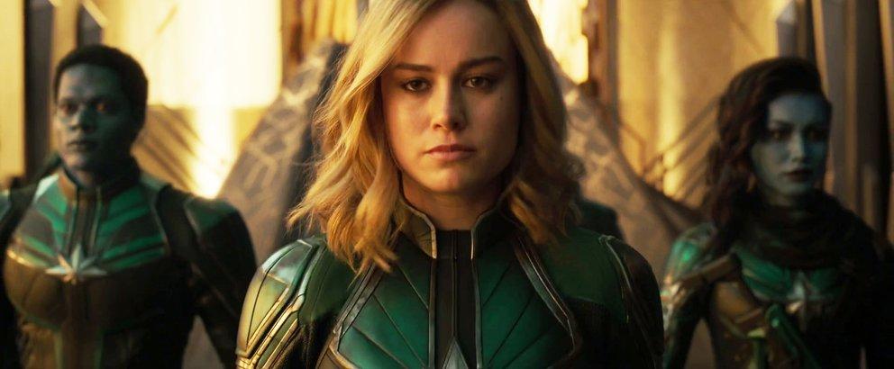 Captain Marvel Carol Danvers Jude Law Yon-Rogg Mar-Vell