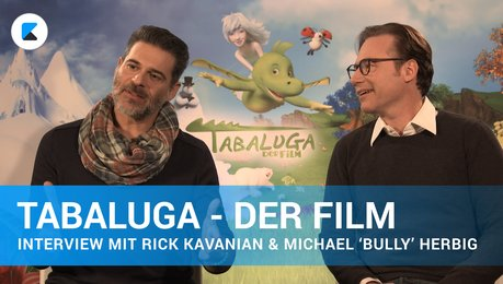 Tabaluga - Interview mit Rick Kavanian & Michael 'Bully' Herbig Poster