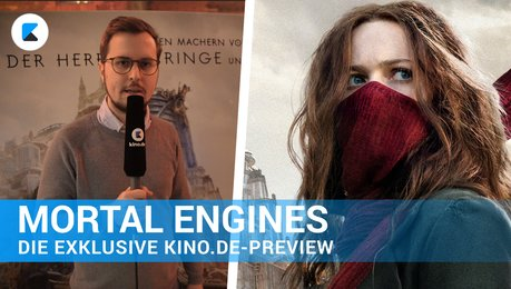 Mortal Engines - Die exklusive kino.de-Preview Poster