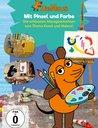 Die Maus 17 - Mit Pinsel und Farbe Poster