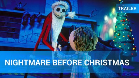 Nightmare Before Christmas - Trailer Poster