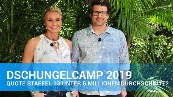Dschungelcamp 2019 Die Quoten Aktueller Folgen Seit 2004 Alle