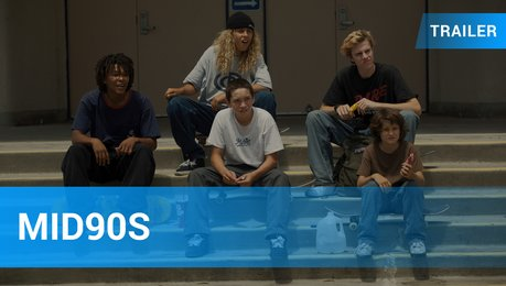 Mid90s - Trailer Deutsch Poster