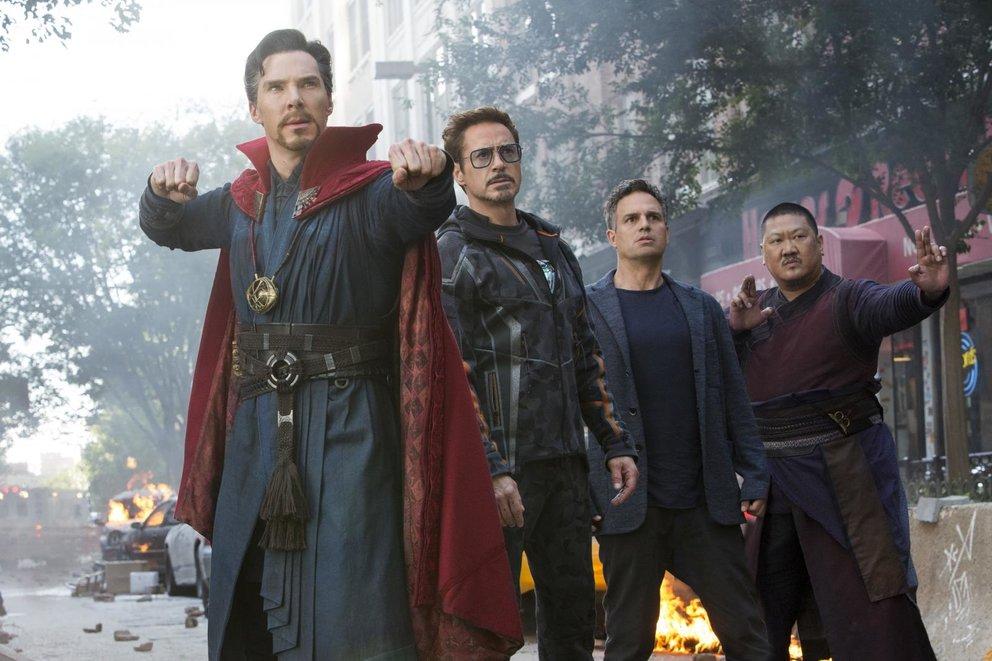 Doctor Strange Iron Man Avengers Infinity War Endgame