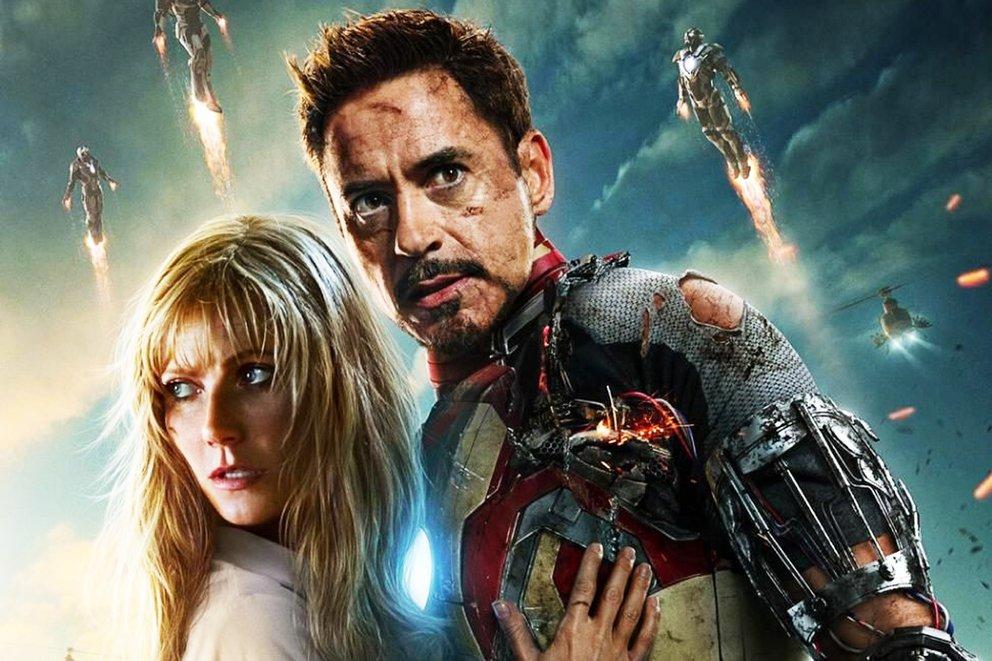 Iron Man 3 Avengers 4 Gwyneth Paltrow Robert Dwoney Jr. Tony Stark