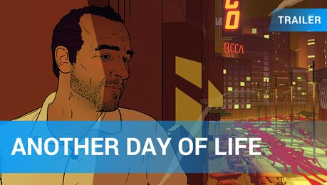 Another Day of Life - Trailer Deutsch Poster