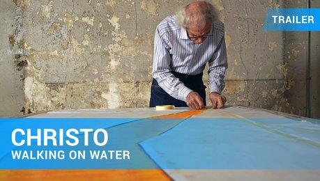 Christo: Walking on Water - Trailer Deutsch Poster