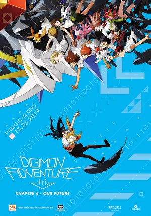 Digimon Adventure Tri. - Chapter 6: Our Future Poster