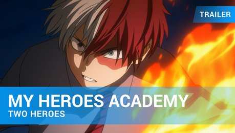 My Hero Academia: Two Heroes - Trailer Deutsch Poster
