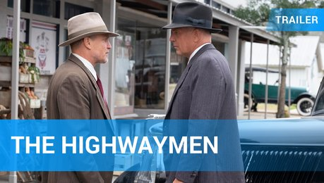 The Highwaymen - Trailer Deutsch Poster