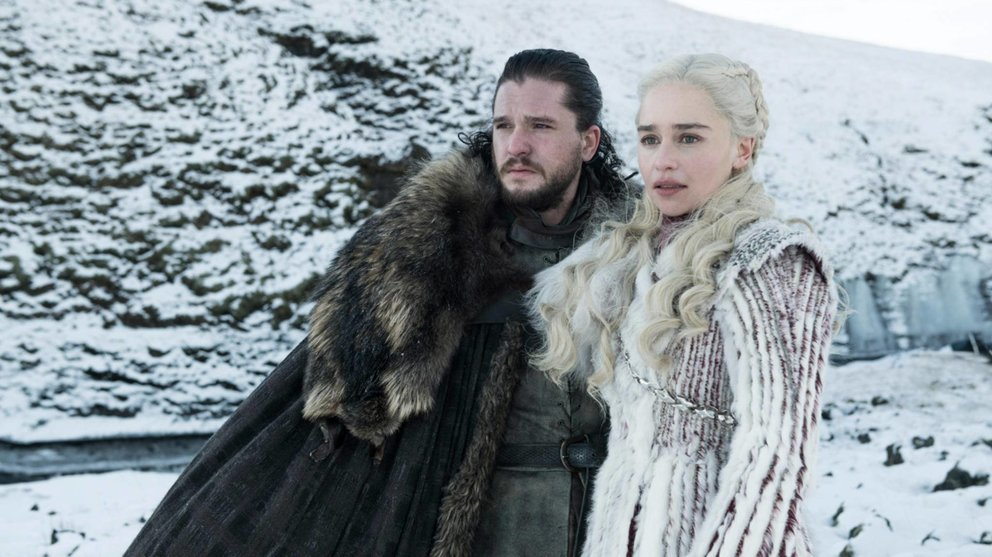 Game of Thrones Staffel 8 Daenerys Jon Snow Geist Ghost