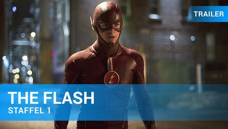 The Flash Staffel 1 Bluray DVD Trailer Deutsch Poster
