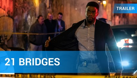 21 Bridges - Trailer Deutsch Poster