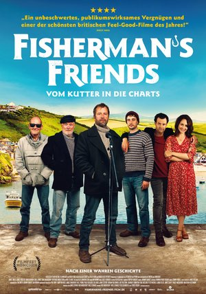 Fisherman's Friends - Vom Kutter in die Charts Poster