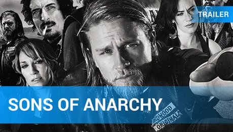 Sons of Anarchy DVD Bluray Box Trailer Deutsch Fox Poster