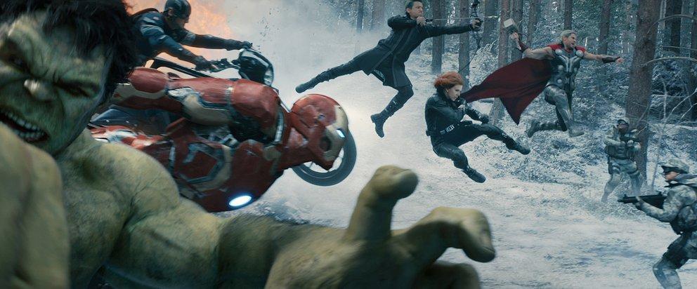 Avengers Endgame Loki Zepter Age of Ultron HYDRA S.H.I.E.L.D.