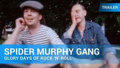 Spider Murphy Gang - Glory Days of Rock 'N' Roll - Trailer Deutsch Poster