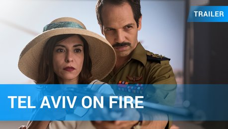 Tel Aviv on Fire - Trailer Deutsch Poster