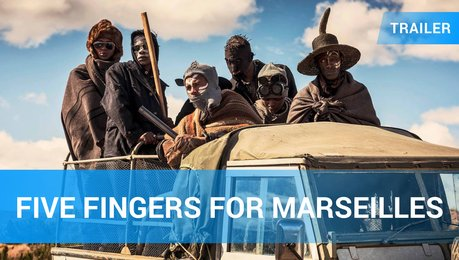 Five Fingers For Marseilles - Trailer Deutsch Poster