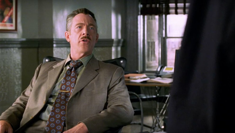 J.K. Simmons Spider-Man J. Jonah Jameson Far From Home MCU 2019
