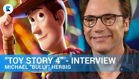TOY STORY 4-Interview mit Michael Bully Herbig Poster