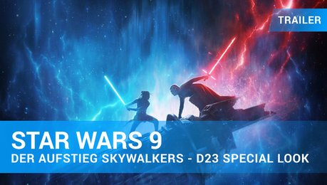 """Star Wars 9: Der Aufstieg Skywalkers"" – D23 Special Look Trailer Deutsch Poster"