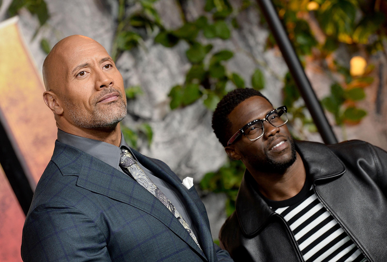 """""""Kevin Hart hat Krankenhaus nach Unfall verlassen: Dwayne Johnson gibt Update"""""""