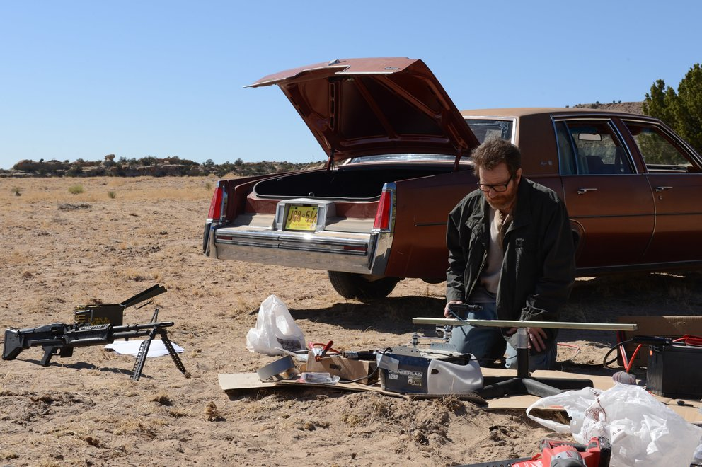 Breaking Bad El Camino Maschinengewehr Walter White Finale