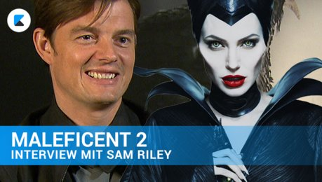MALEFICENT 2 - Sam Riley im Interview Poster