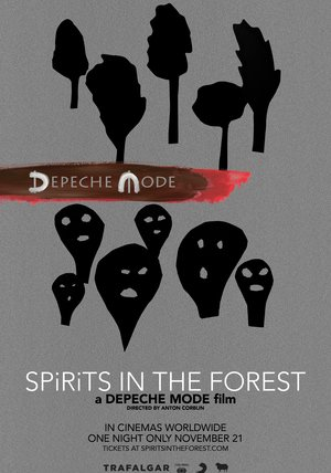 Depeche Mode - Spirits in the Forest Poster