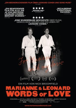Marianne & Leonard - Words of Love Poster