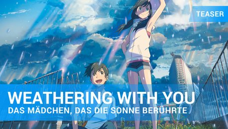 Weathering with You - Teaser-Trailer Deutsch Poster