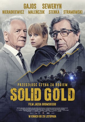 Solid Gold Poster