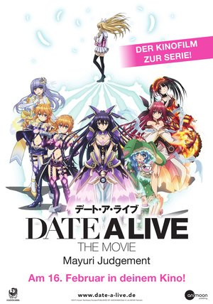Date a Live - The Movie: Mayuri Judgement Poster