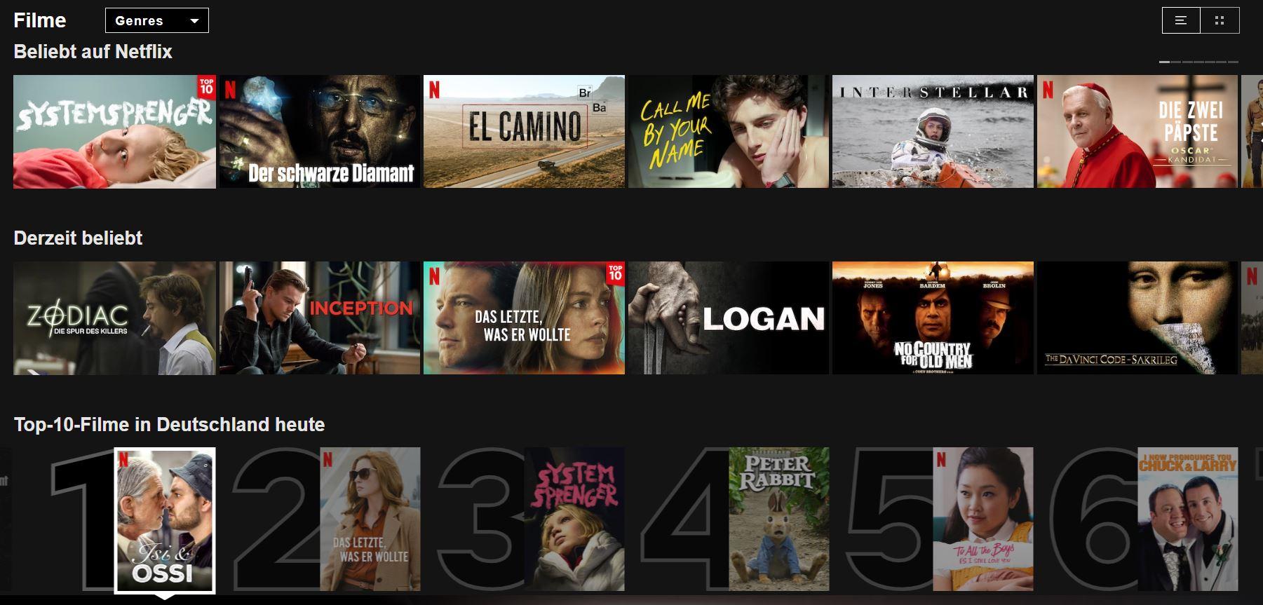 Sex Serien Filme Netflix