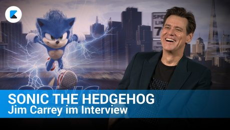 Sonic the Hedgehog - Jim Carrey im Interview Poster