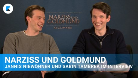 Narziss und Goldmund - Interview Poster
