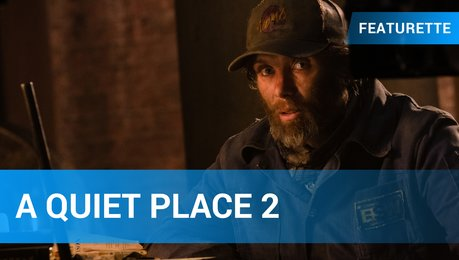 A Quiet Place 2 - Cillian Murphy Featurette Poster