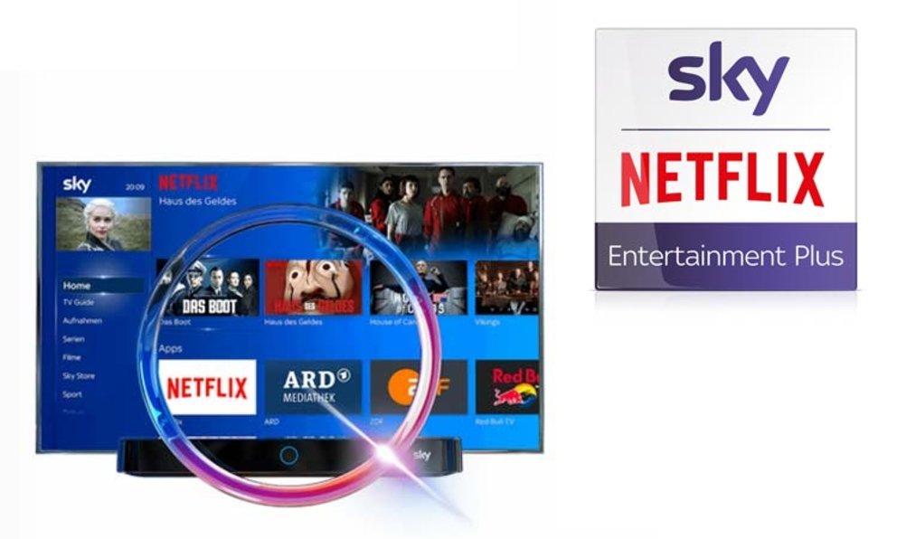 Netflix über Sky Receiver
