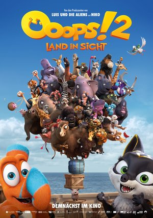 Ooops! 2 - Land in Sicht Poster