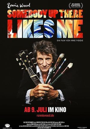 Ronnie Wood: Somebody Up There Likes Me Poster