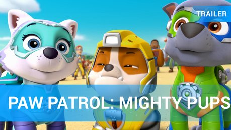 Paw Patrol: Mighty Pups - Trailer Deutsch Poster